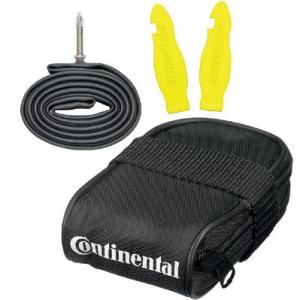 Satteltasche inkl. Schlauch (28 Zoll) und Reifenheber